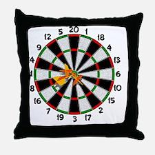 dartboard_sm Throw Pillow