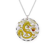 Golden Dragon Necklace