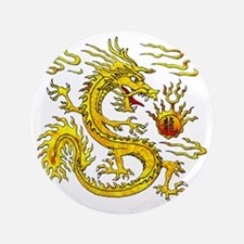 "Golden Dragon 3.5"" Button"