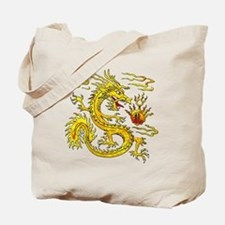 Golden Dragon Tote Bag