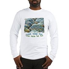 Rushing Stream Long Sleeve T-Shirt