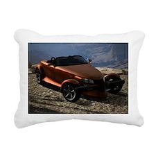 Plymouth Prowler 2002 Rectangular Canvas Pillow