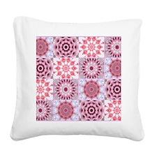petals Square Canvas Pillow