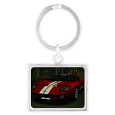 2005 Ford GT Landscape Keychain