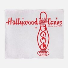 HollywoodStarLanes Throw Blanket
