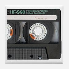Cassette wallet Tile Coaster