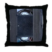 VHS Tape ipad2 case Throw Pillow
