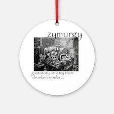 Zymurgy_1 Round Ornament