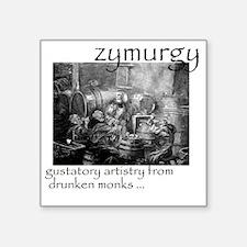 "Zymurgy_1 Square Sticker 3"" x 3"""