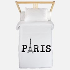 PARIS Eiffel Tower Twin Duvet