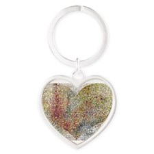 heart particles Keychains