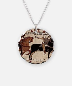 mousepad_bayeux Necklace Circle Charm