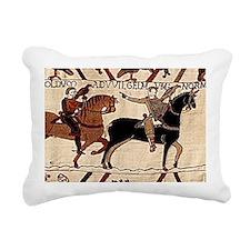 mousepad_bayeux Rectangular Canvas Pillow