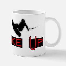 Wake Up1 for White Mug
