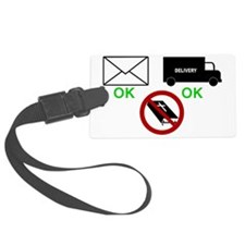 yard sign with bible Luggage Tag