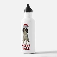 Springer Spaniel Chris Water Bottle