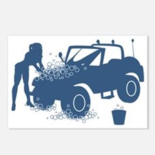 Sexy Carwash Postcards (Package of 8)