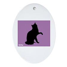 Van iPet Oval Ornament