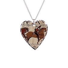 largewallclock2_bayeux Necklace Heart Charm