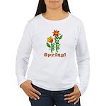 Spring Flowers Women's Long Sleeve T-Shirt