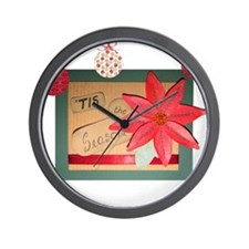 Tis the Season Wall Clock