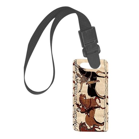 journal_bayeux Small Luggage Tag