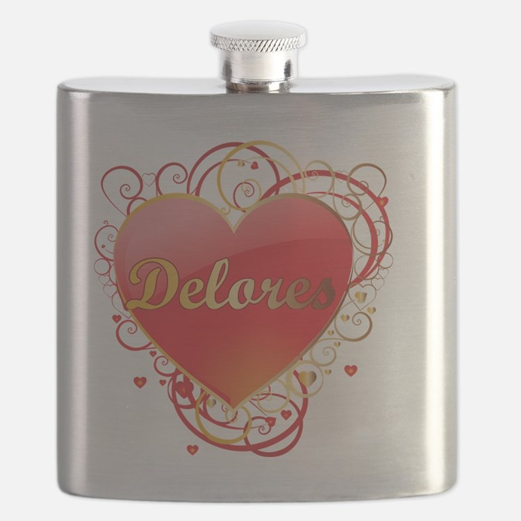 Delores-Valentines Flask