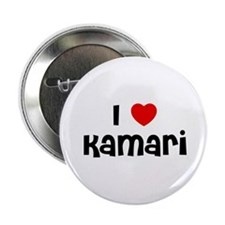 "I * Kamari 2.25"" Button (10 pack)"