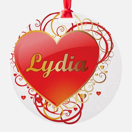 Lydia-Valentines Ornament