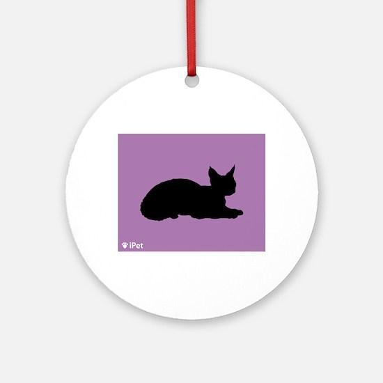 Rex iPet Ornament (Round)