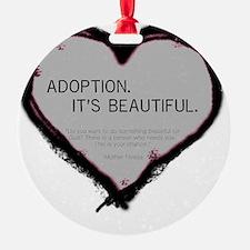 adoption beautiful 2 Ornament