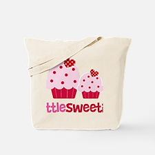 CupcakeSweetie2LittleSister Tote Bag
