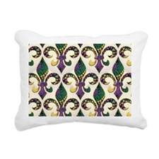 FleurMGbeadsJPBeBag Rectangular Canvas Pillow