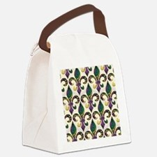 FleurMGbeadsJPFlipf Canvas Lunch Bag