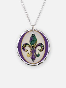 FleurMGbeads2JTr Necklace