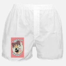 hello bunny Boxer Shorts