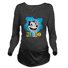 spotblue Long Sleeve Maternity T-Shirt