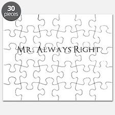 Mr Always Right Puzzle