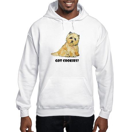 Cairn Terrier - Got Cookies? Hooded Sweatshirt