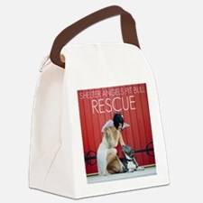 Red Rescue Canvas Lunch Bag