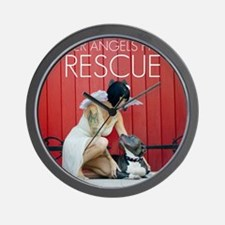 Red Rescue Wall Clock