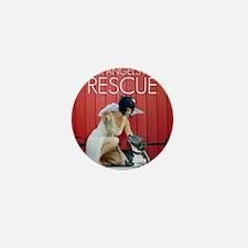 Red Rescue Mini Button