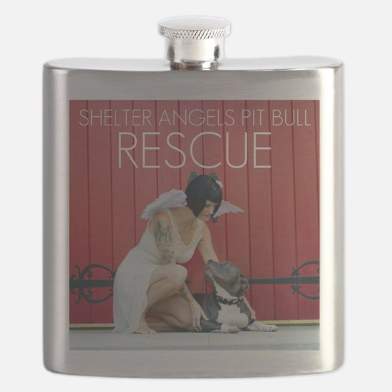 Red Rescue Flask