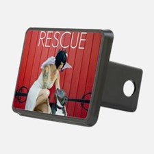 Red Rescue Hitch Cover