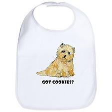 Cairn Terrier - Got Cookies? Bib