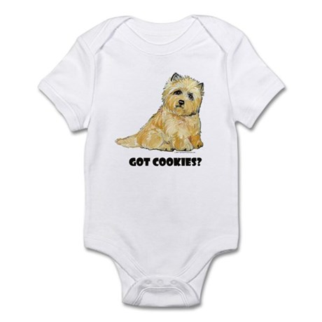 Cairn Terrier - Got Cookies? Infant Bodysuit