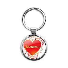 Joanna-Valentines Round Keychain