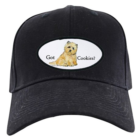 Cairn Terrier - Got Cookies? Black Cap