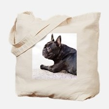french bulldog a Tote Bag