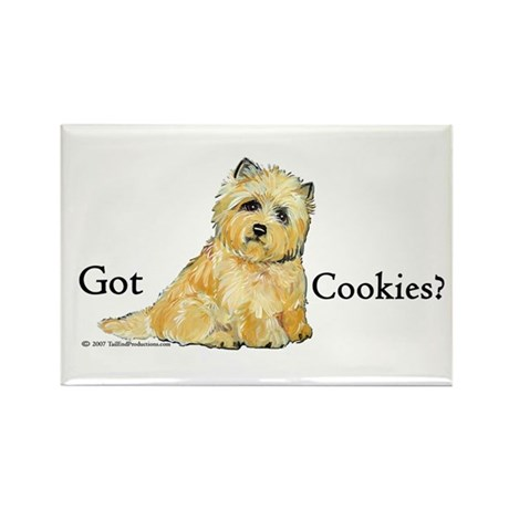 Cairn Terrier - Got Cookies? Rectangle Magnet
